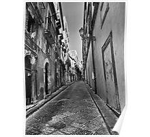 Per le strade di Ortigia Poster