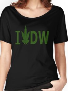 I Love DW Women's Relaxed Fit T-Shirt