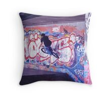 I can ride a bike  Throw Pillow