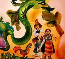 Romanian Story - Detail by MonaEliza