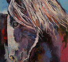 Highland Pony by Michael Creese