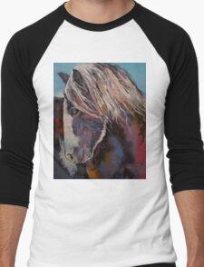 Highland Pony Men's Baseball ¾ T-Shirt