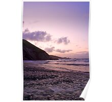 Soft Newgale Dawn Poster