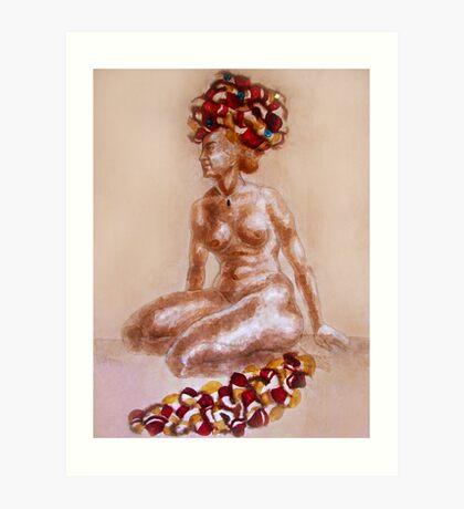 Orient Woman Art Print