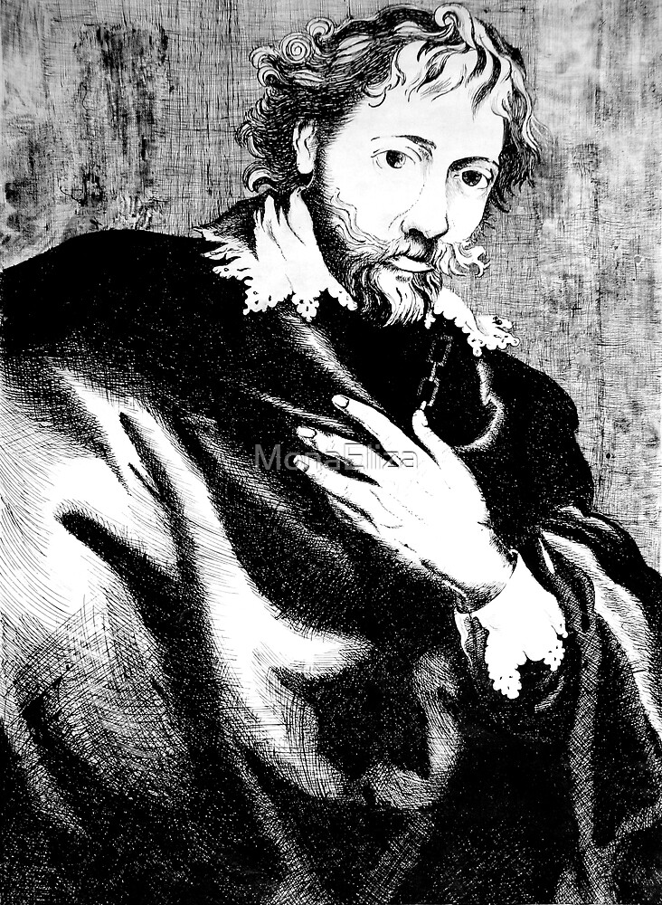 Pieter Paul Rubens by MonaEliza
