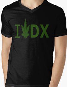 I Love DX Mens V-Neck T-Shirt