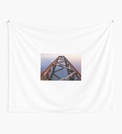 Slipping away Wall Tapestry