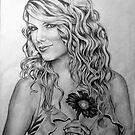Taylor Swift Pencil Portrait by morfland