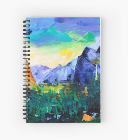 Yosemite Valley - Tunnel View Spiral Notebook