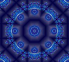 Spiraling Down Into A Kaleidoscope by Britta Döll