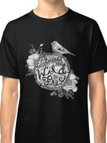 """Thoreau"" Your Life Away Classic T-Shirt"