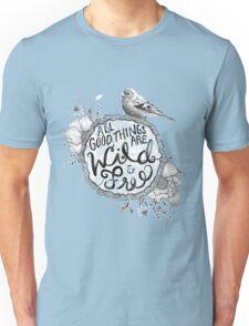 """""""Thoreau"""" Your Life Away Unisex T-Shirt"""