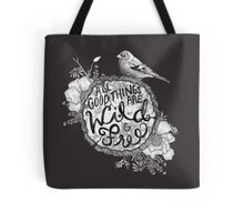 """Thoreau"" Your Life Away Tote Bag"