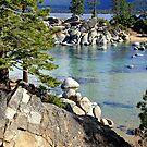 """Rocky Shoreline"" by Lynn Bawden"