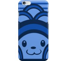 Blue Bear Geometric iPhone Case/Skin