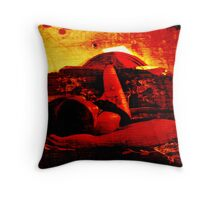 UNTITLED (TWO TONE ART) Throw Pillow
