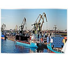 Freighters in Russia Poster