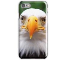 Eye to Eye with A Bald Eagle iPhone Case/Skin