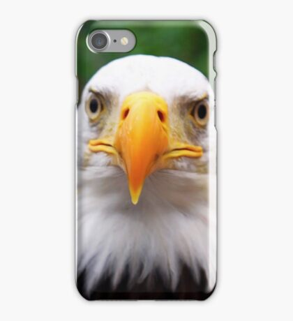 Eye to Eye with A Bald Eagle iPhone Case/Skin