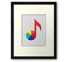 Music Theory Framed Print