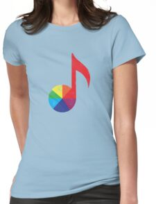 Music Theory Womens Fitted T-Shirt