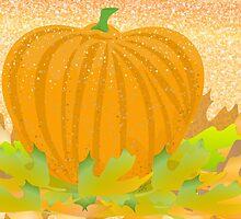 Autumn Pumpkin by elledeegee