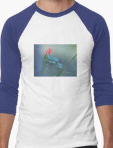 Petite Fleur # 1 Men's Baseball ¾ T-Shirt