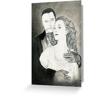 The Music of the Night Greeting Card