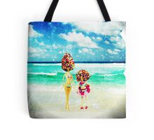 rainbow sprinkles surreal ice cream sisters Tote Bag