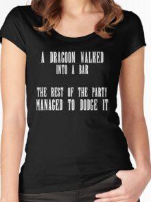 FFXIV - Dragoon Joke Women's Fitted Scoop T-Shirt