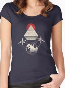 Under Control Women's Fitted Scoop T-Shirt