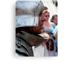 Focussed warrior Canvas Print