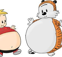 calvin and hobbes obess by bagasbeside