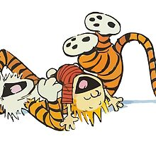 calvin and hobbes rotfl by bagasbeside