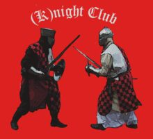 Medieval (K)night Club T-shirt design. One Piece - Short Sleeve