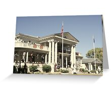 """""""Governor's Mansion"""" Greeting Card"""