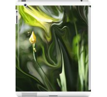 Abstract Insect on Yellow Flower iPad Case/Skin