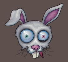 Crazy White Rabbit by fizzgig