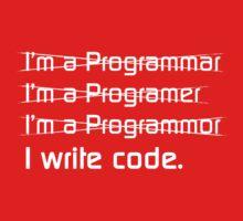 Teevolution :: I write code Kids Tee