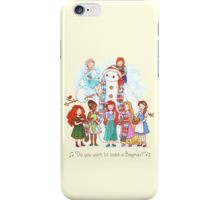 Do You Want to Build a Baymax? iPhone Case/Skin