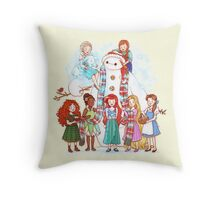 Do You Want to Build a Baymax? Throw Pillow