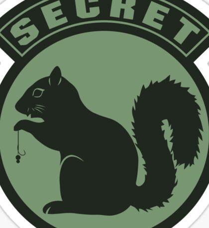 Secret Squirrel - Carp Fishing Sticker