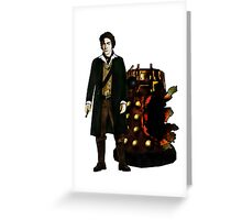 The War Doctor and Dalek Greeting Card