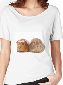 Two adorable guinea pigs Women's Relaxed Fit T-Shirt