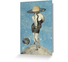 Color Chaos Collection --  Spacin'Out Greeting Card