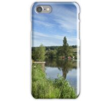 Thames at MapledurhamRiver iPhone Case/Skin