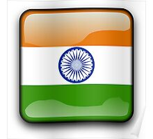 Indian Flag, Icon, India Poster