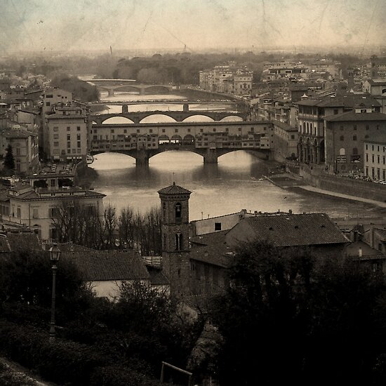 Old Bridge by Vittorio Magaletti