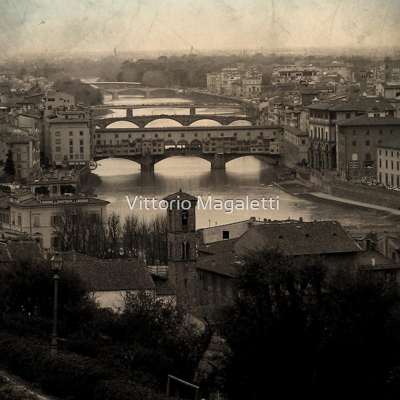 Old Bridge by Vittorio Magaletti