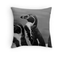 P...P...P...Penguin Throw Pillow